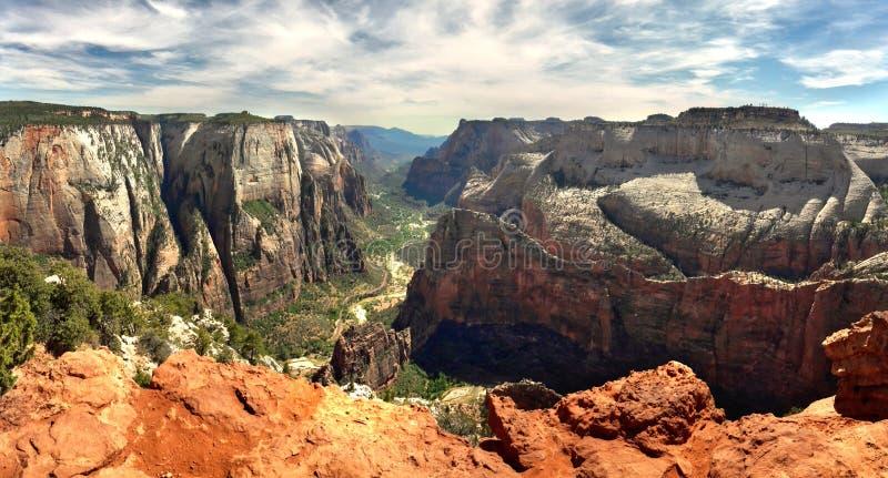 Zion park narodowy, Utah usa zdjęcie stock