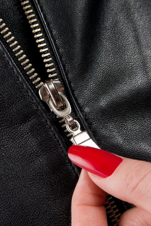Zip-fastener stock fotografie