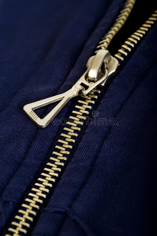 Zipper imagem de stock royalty free