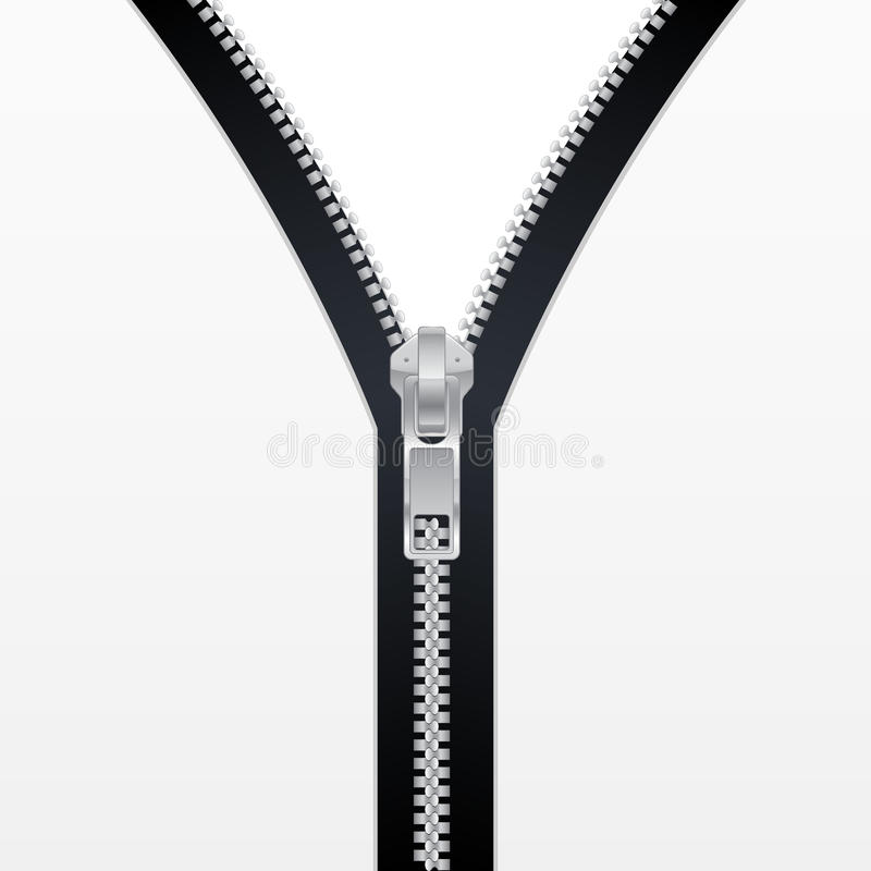 zipper stock illustrationer