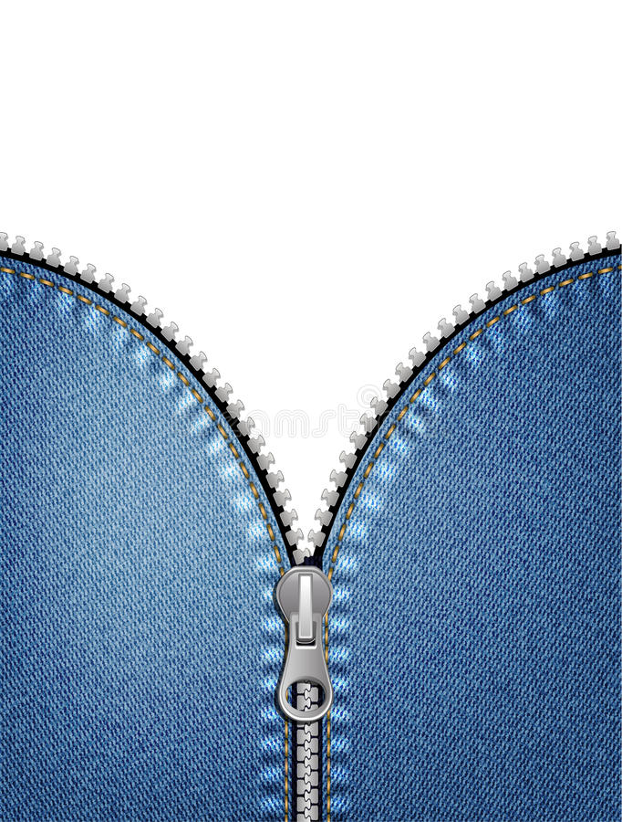 Download Zipper stock vector. Illustration of sign, black, fastener - 26946013