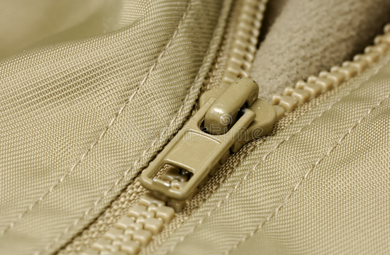zipper royaltyfria bilder