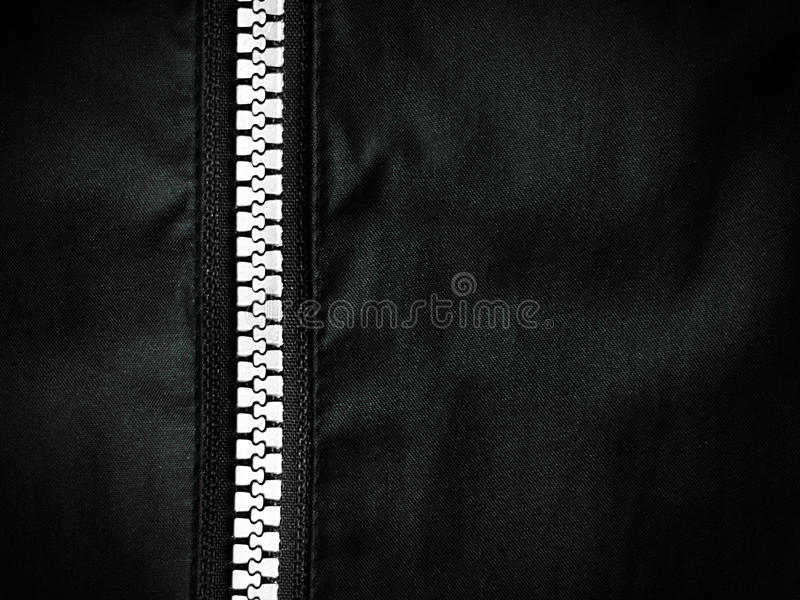 Zipper black and white concep royalty free stock images