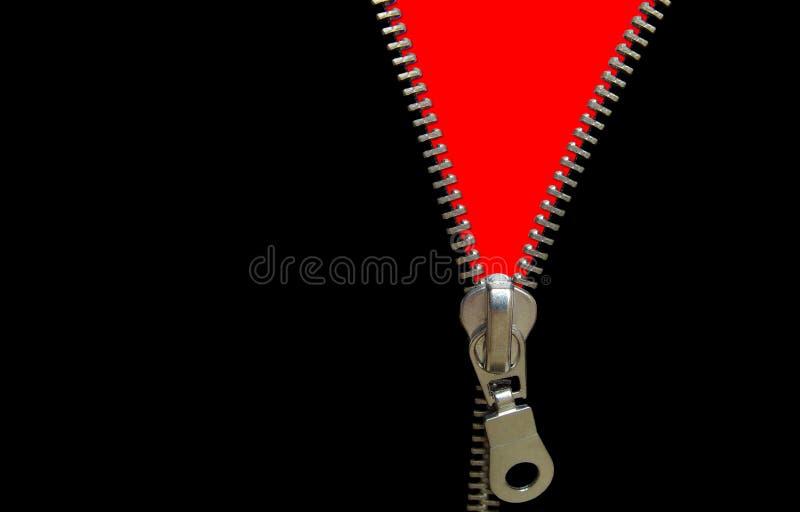 Zipper concept stock images
