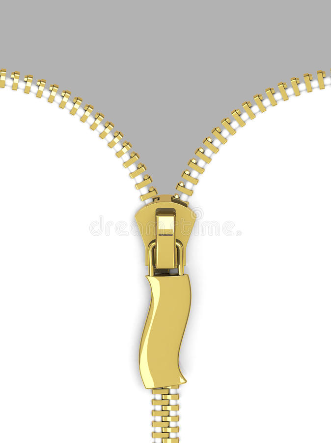 Download The zipper stock illustration. Image of concept, close - 39712389