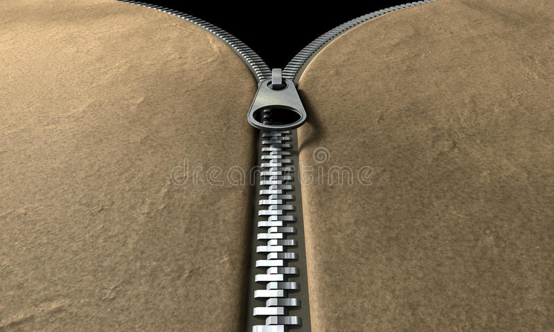 Download Zipper Front Perspective stock illustration. Image of zipped - 24489364
