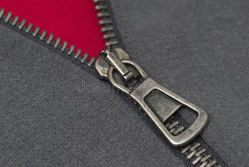 Download Zipper thread and textile stock photo. Image of gray, concept - 9515168