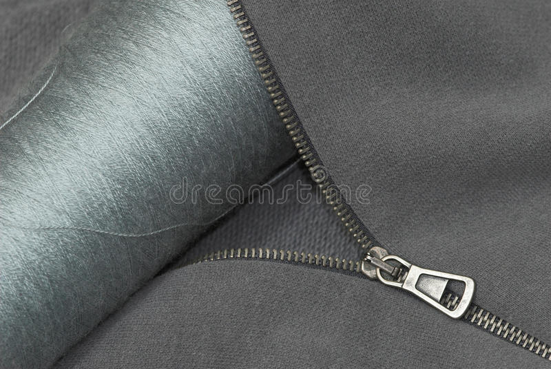 Download Zipper thread and textile stock photo. Image of closing - 9515910