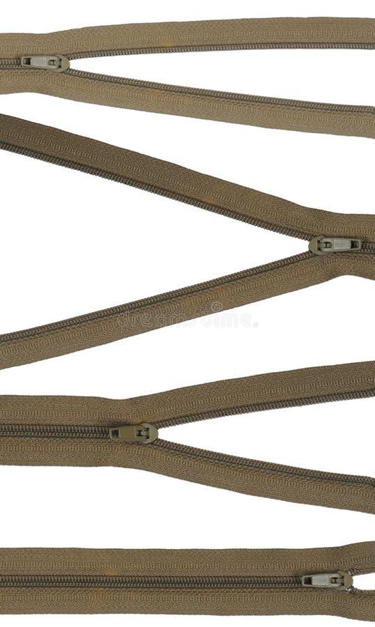 Zippers fotos de stock