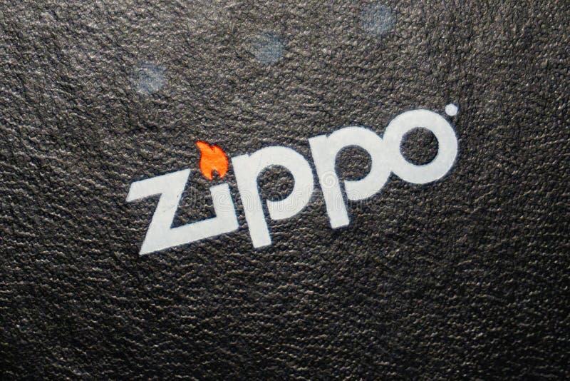 Zippo imagem de stock royalty free