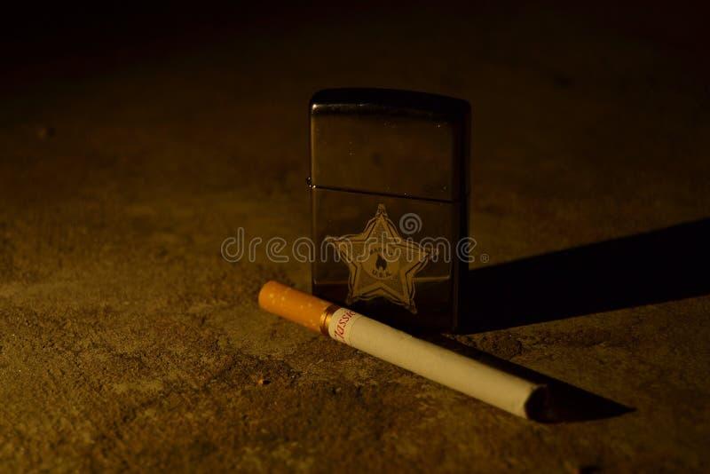 Zippo Feuerzeug lizenzfreies stockbild
