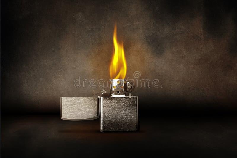 Zippo lighter royalty free stock photos