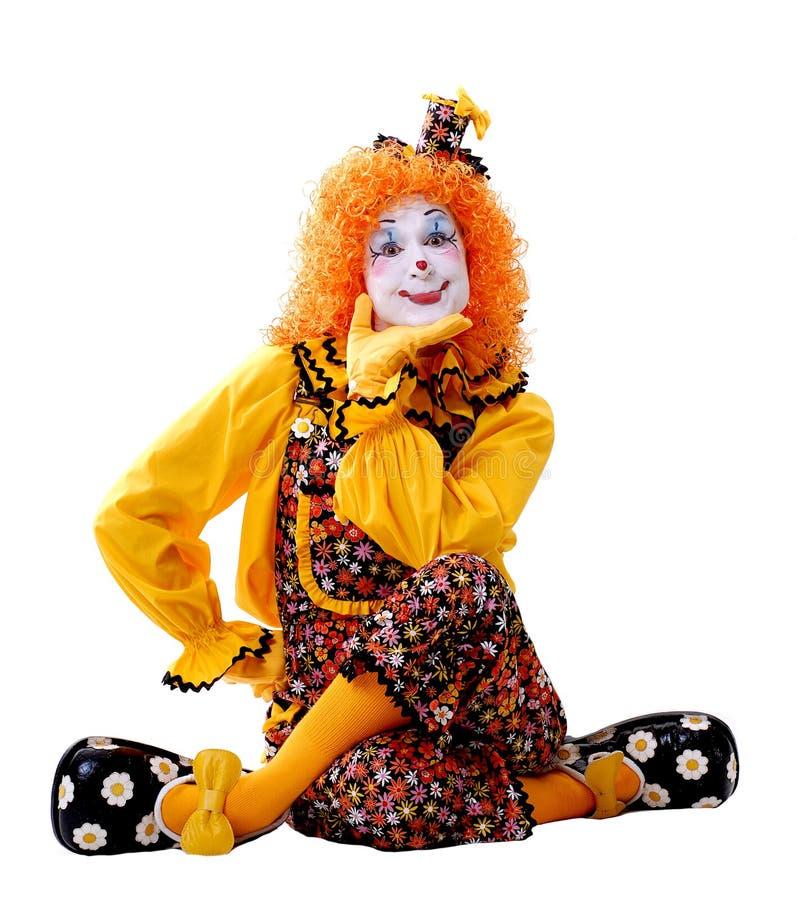 Zirkus-Clown lizenzfreie stockfotos