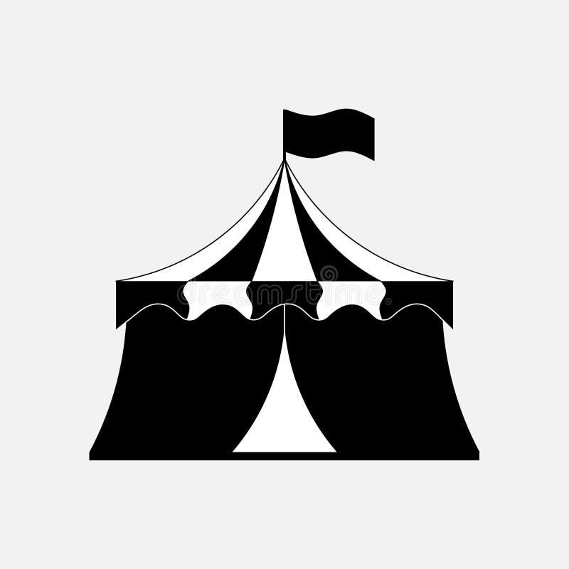 Zirkusikone, Unterhaltung stock abbildung