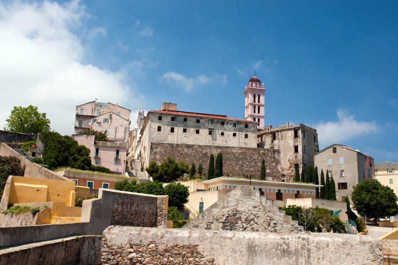 Zitadelle des Bastias stockbilder