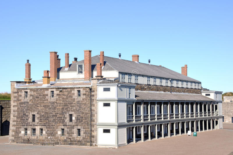 Zitadelle-nationale historische Site stockfoto