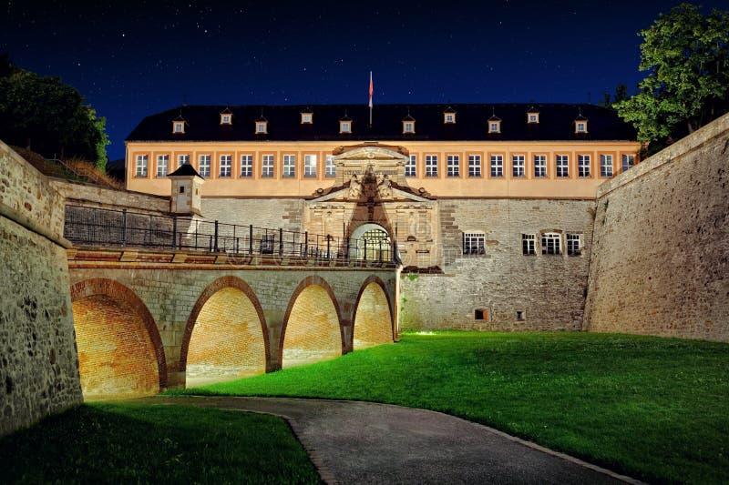 Zitadelle Petersberg, Erfurt, Thuringia, Germany stock photo