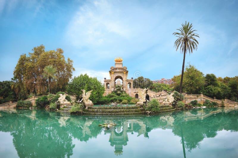Zitadellen-Park in Barcelona lizenzfreies stockfoto