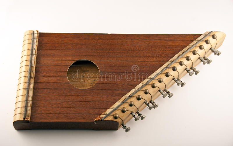Zither foto de stock