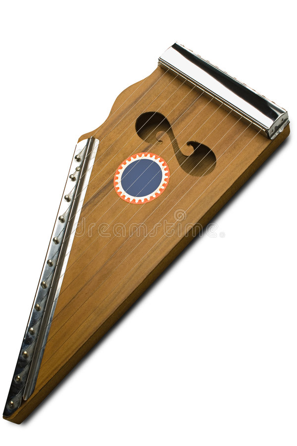 zither royaltyfri foto