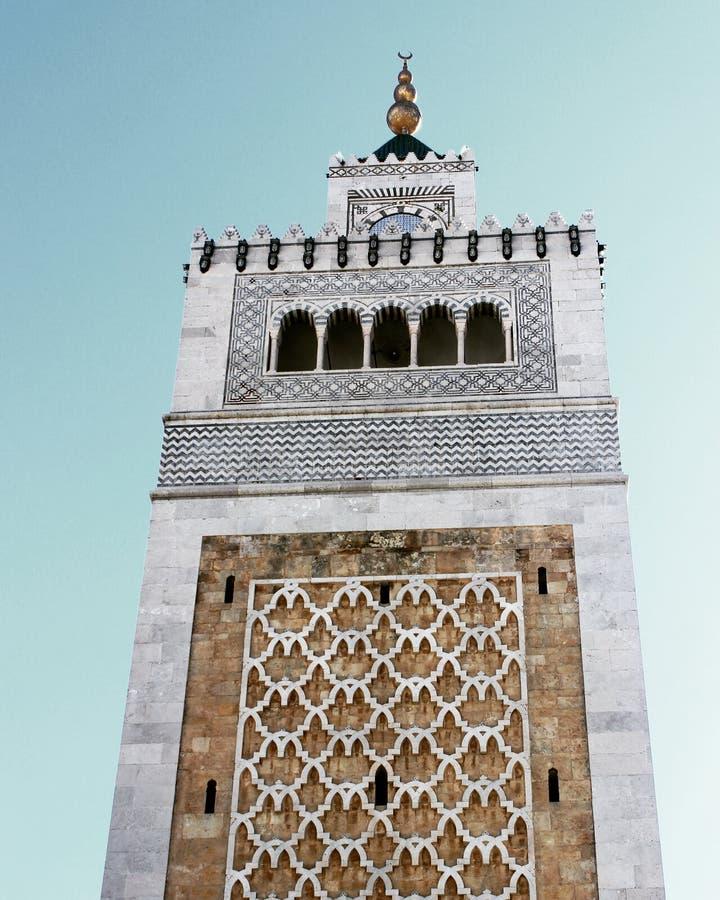Zitouna Mosque stock photo