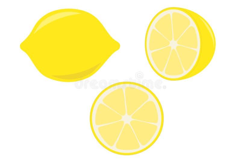 Zitrone lizenzfreie abbildung