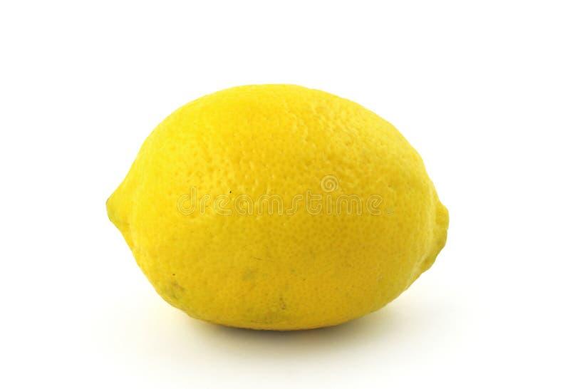 Zitrone auf Weiß lizenzfreie stockfotografie