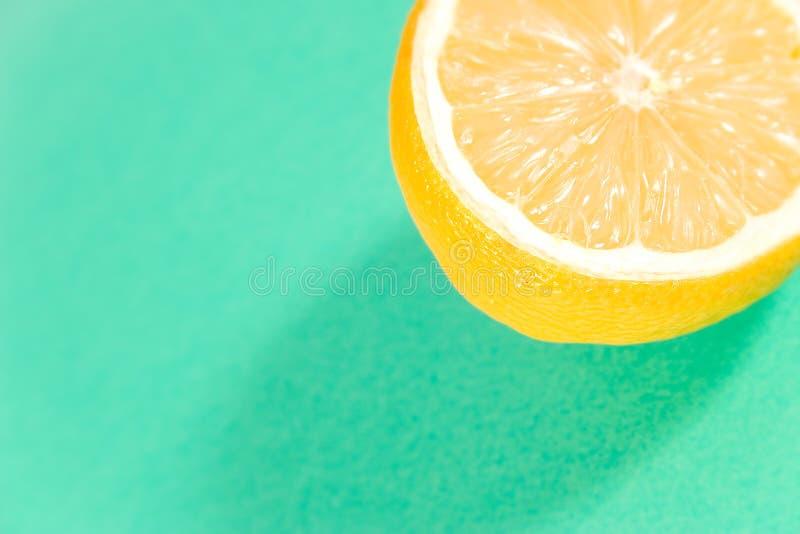 Zitrone Des Grüns Lizenzfreies Stockbild