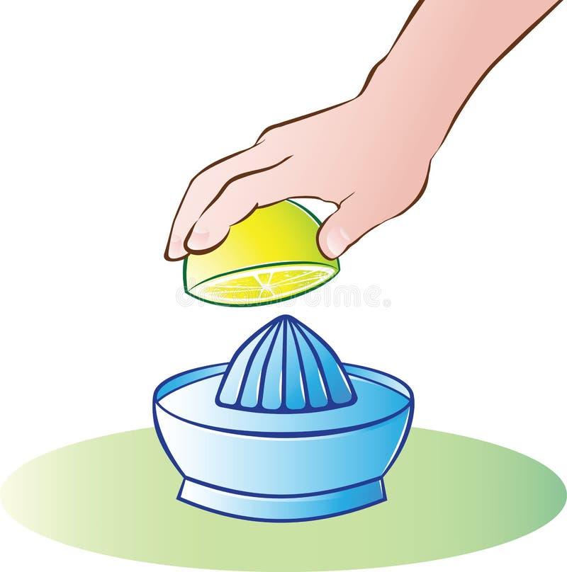 Zitrone Juicer lizenzfreie abbildung