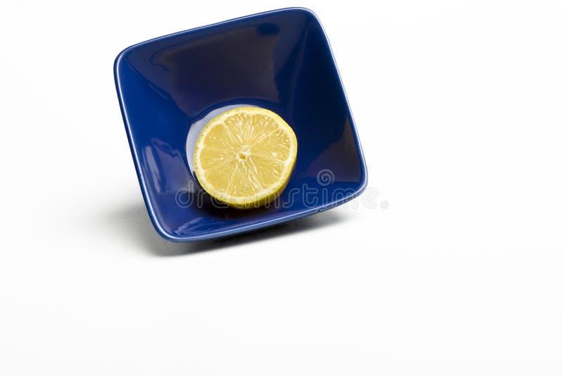 Zitrone-noch Leben stockbild