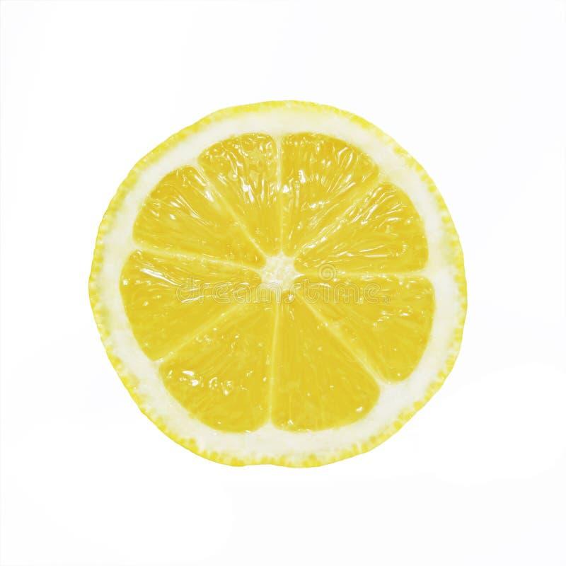 Zitrone-Scheibe lizenzfreies stockfoto