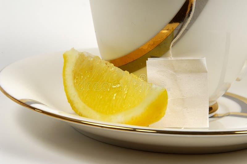 Zitrone-Tee lizenzfreie stockfotografie