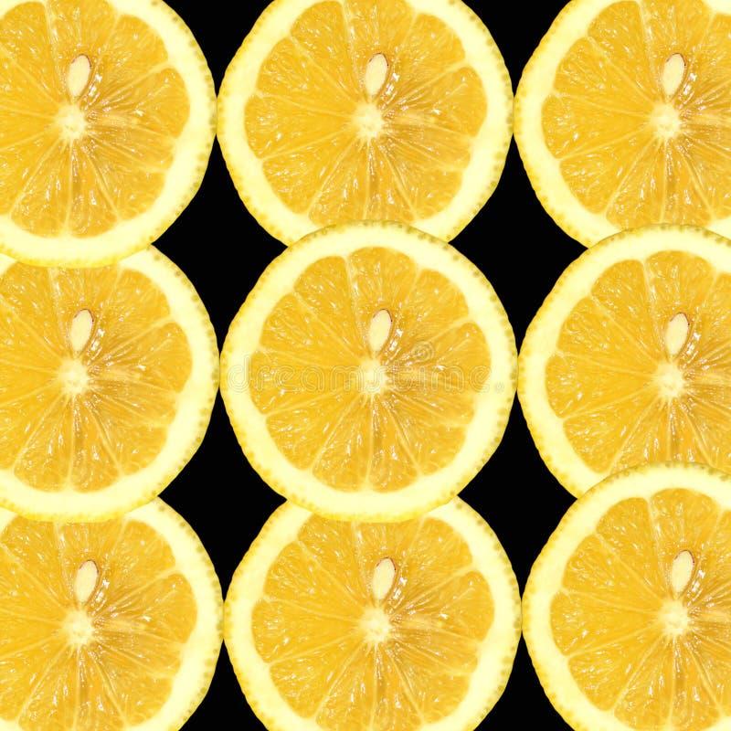 Zitrone-Zesty Scheiben stockfotos