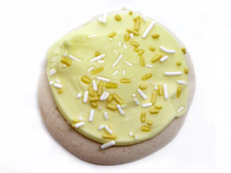 Download Zitrone-Zuckerplätzchen stockfoto. Bild von zitrone, plätzchen - 26436