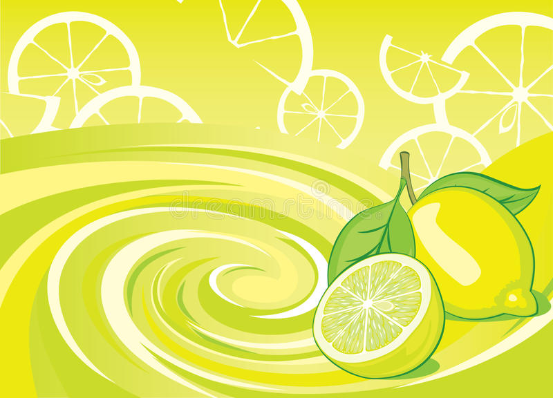 Zitronearoma lizenzfreie abbildung