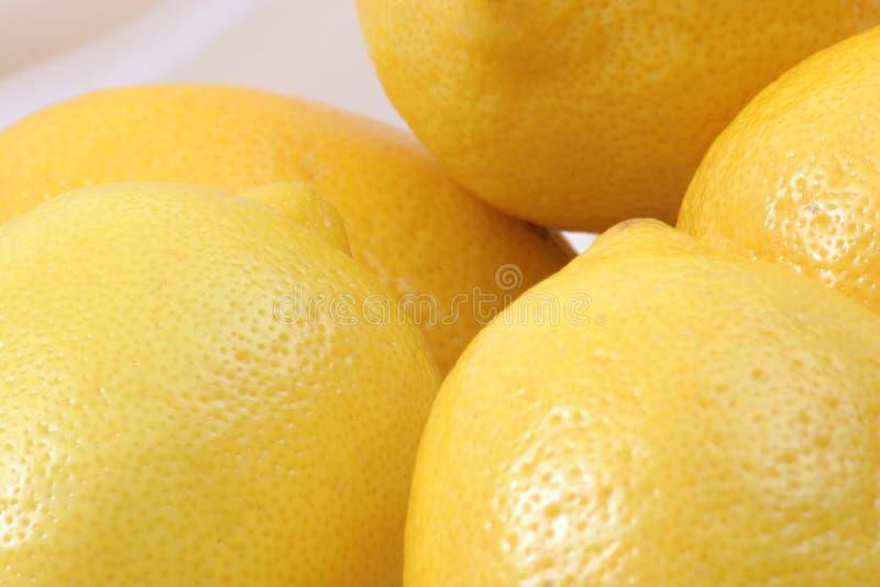 Zitronen In Einer Gruppe Lizenzfreie Stockfotografie