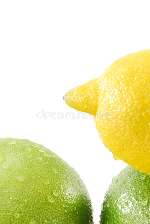 Zitronen- Früchte lizenzfreie stockfotos