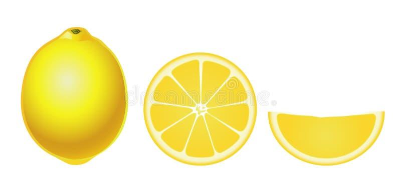 Zitronen getrennt (einfach) vektor abbildung