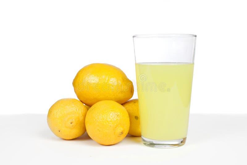 Zitronen und Limonade stockfotos