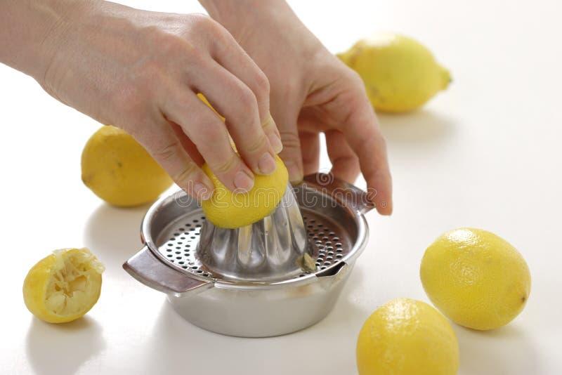 Zitronequetscher lizenzfreies stockfoto