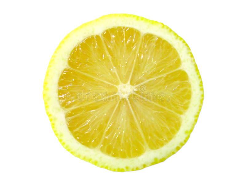 Zitronescheibe lizenzfreies stockfoto