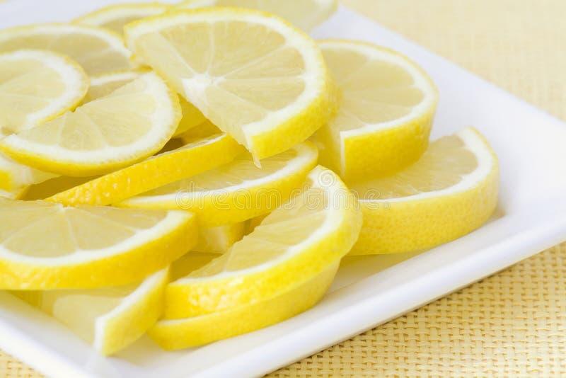 Zitronescheiben lizenzfreies stockbild