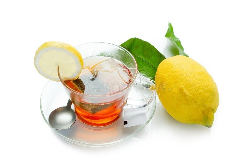 Zitronetee lizenzfreies stockbild