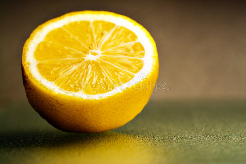 Zitroneteil 2 lizenzfreies stockfoto