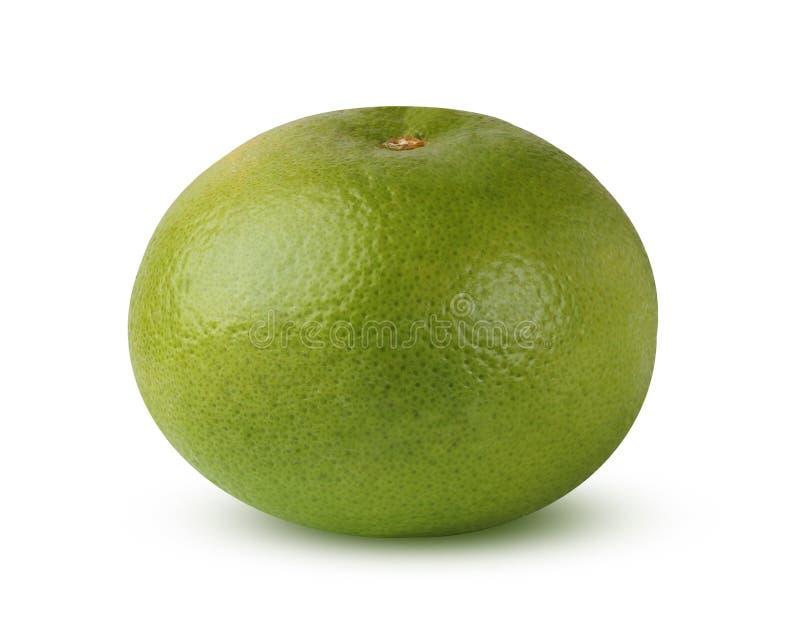 Zitrusfrucht-Herzchen, lokalisiert auf weißem Hintergrund mit Schatten stockfoto