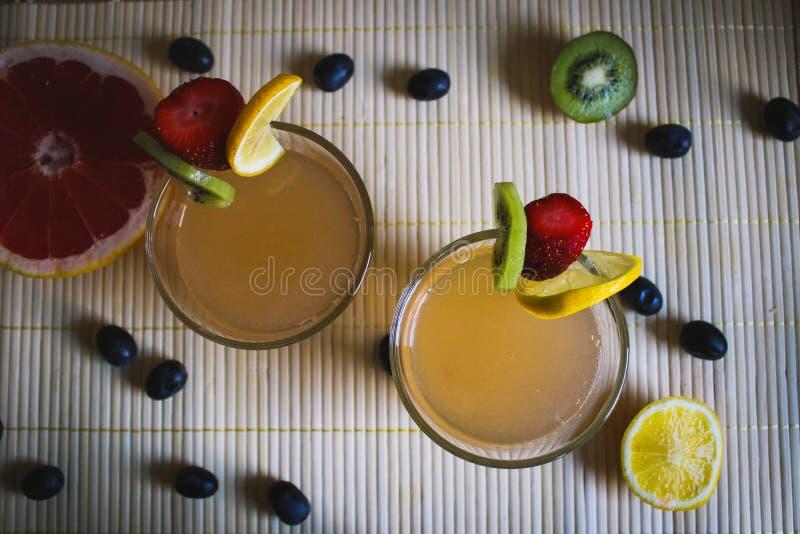 Zitrusfruchtlimonade stockfotografie