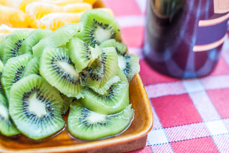 Zitrusfruchtsnack stockfoto