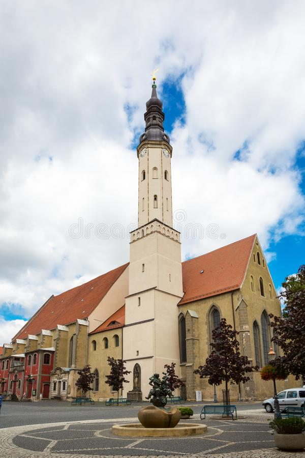 Zittau monastery church, Saxony, Germany stock image