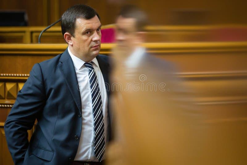 Zitting van Verkhovna Rada van de Oekraïne royalty-vrije stock afbeeldingen