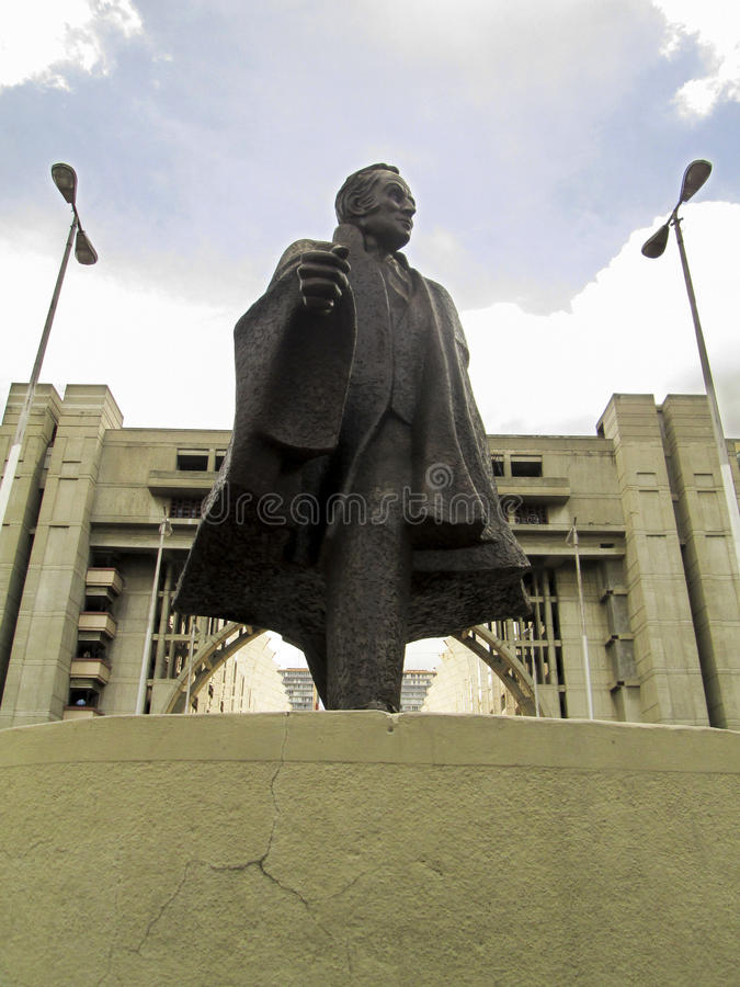 Zivil-Bolivar, Bolivar höflich, Bolivar-Allee, Avenida Bolivar, Caracas, Venezuela stockfotografie